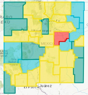 Doña Ana County returned to the Yellow Level Wednesday, March 10, 2021with a COVID-19 test positivity rate of 4.72%.