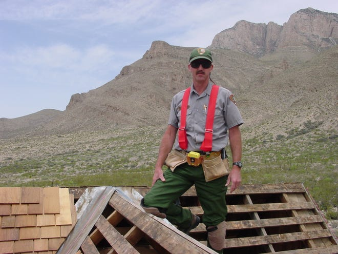 Val Cal is retiring from is position as Chief of Facility Maintenance for Guadalupe Mountains National Park.