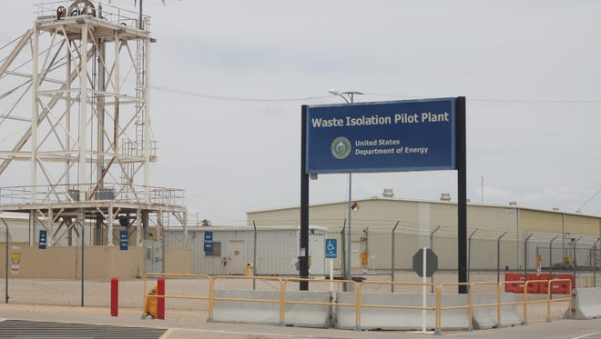 Low-level nuclear waste is permanently disposed of at the Waste Isolation Pilot Plant near Carlsbad, April 30, 2018 at WIPP.