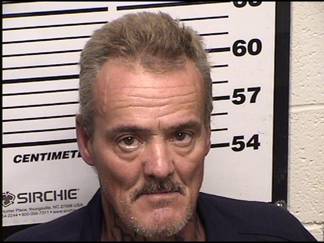 Edward Melville of Carlsbad was arrested by law officers during a drug trafficking investigation by the Pecos Valley Drug Task Force.