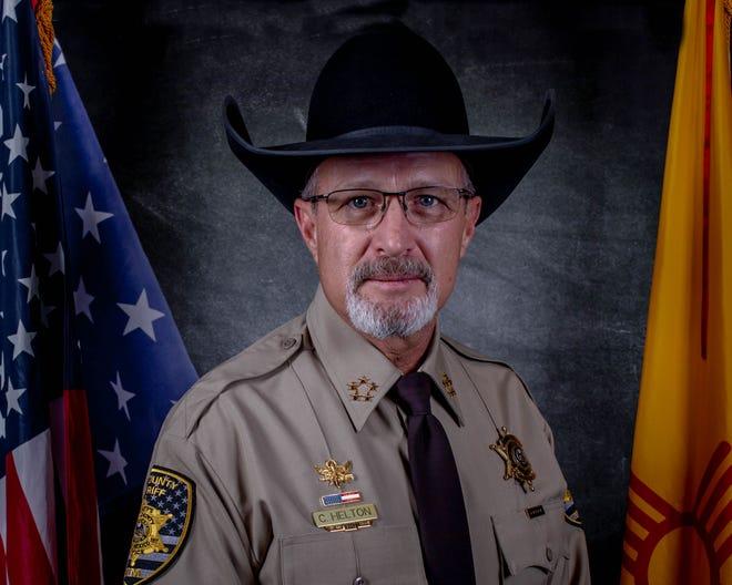 Lea County Sheriff Corey Helton