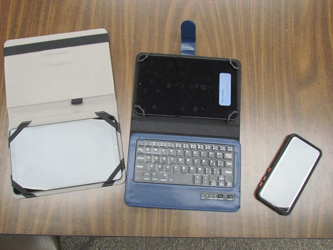 While each offers some different peripheral uses, the E-reader (left) Chrome book (center) and hot spot (right) give internet devoid individuals the opportunity to connect from their homes. They're available to loan for free from your local library.