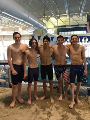 The Carlsbad Cavemen relay team will compete in the 200-yard race on Saturday at Albuquerque Academy in the hopes of winning a state title.