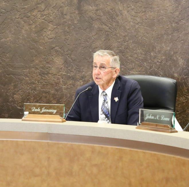 Carlsbad Mayor Dale Janway speaks during the June 9, 2020 Carlsbad City Council meeting.