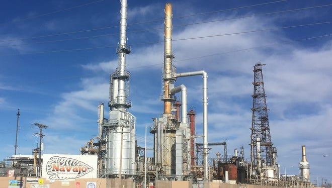 The Navajo Refinery located in Artesia process 100,000 barrels of crude oil per day from around the Permian Basin.