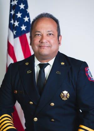 Carlsbad Fire Chief Richard Lopez