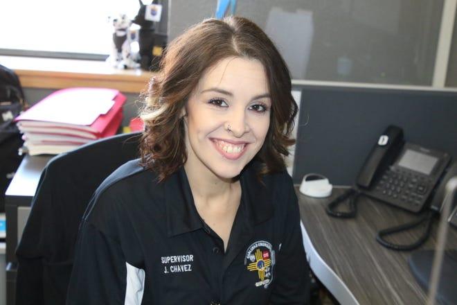 Jennifer Chavez, dispatch supervisor the City of Carlsbad Emergency Dispatch Center.