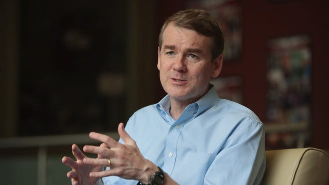 Colorado: Sen. Michael Bennet (D)     • Est. net worth in 2018:  $15,706,014     • Assumed office:  Jan. 22, 2009     • Current term ends:  2023     • Approval rating:  39% approve; 32% disapprove