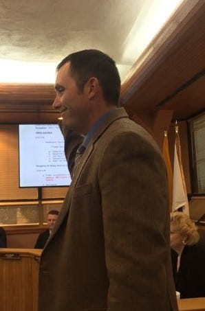 Steve McCutcheon was sworn in Jan. 2, 2019 as District 4 Eddy County Board of Commissioner.