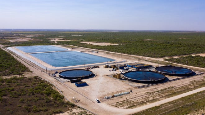 Breakwater's Big Spring Recycling System in West Texas is pictured.