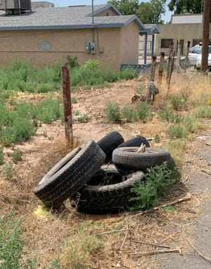 Trash and illegal dumping continued to be a problem in Carlsbad and Eddy County in 2021.