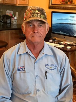 William Murrill, candidate for the Southeast New Mexico College school board for district 2.