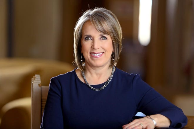 Official portrait of New Mexico Gov. Michelle Lujan Grisham.