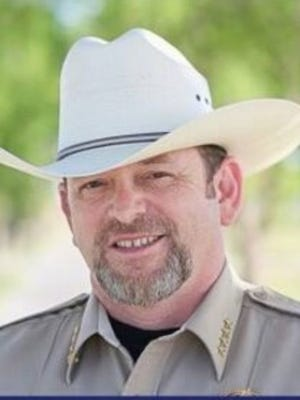 Sheriff Mark Cage, candidate for the Southeast New Mexico College school board for district 1.