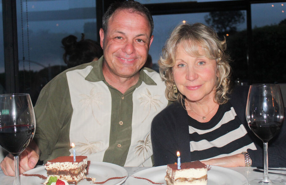 Tiramisu is the most requested birthday dessert on the planet. Taste of Wine & Food's Rico Cassoni recently celebrated his birthday, with his lovely wife Mary, at Il Fornaio in Del Mar with his and hers tiramisu desserts.