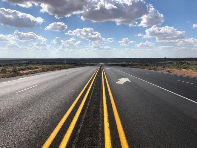 Construction work on U.S. 82 between Artesia and Maljamar was completed recently. New surface and new turn lanes were part of the four-year project.