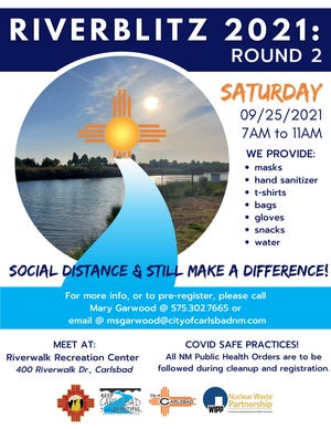 The Carlsbad Riverblitz even aims to help clean up the Pecos River on National Public Lands Day.