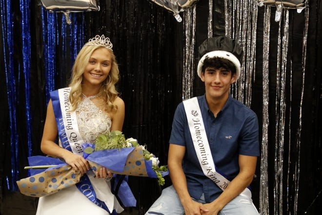Alexa Sowers and Nick Moisa are your 2019 Carlsbad Homecoming Queen and King.