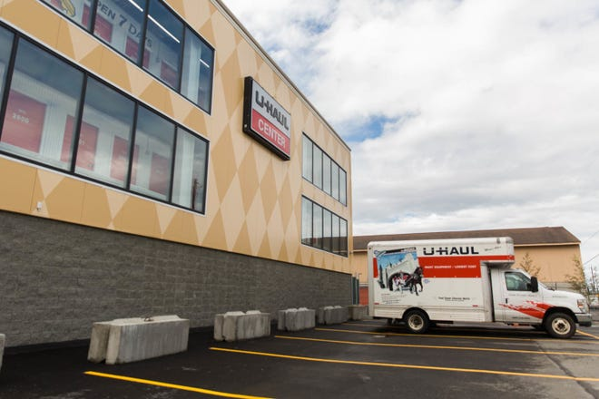 A U-Haul Moving and Storage Center in North Anchorage, Alaska. A similar facility was scheduled to open in Carlsbad in 2022.