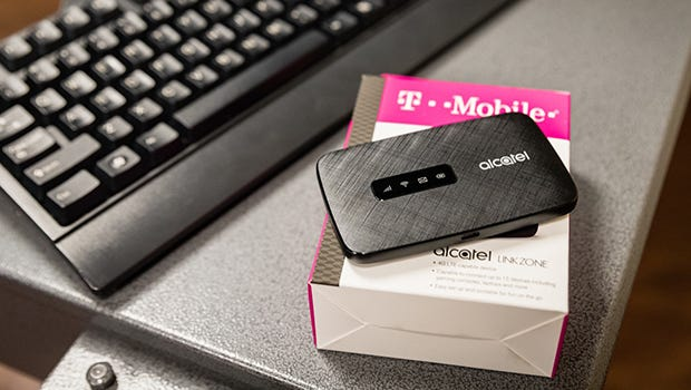 Carlsbad Municipal Schools are providing T-Mobile Wi-Fi hot spot devices students without internet access.